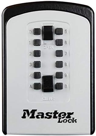 MASTER LOCK Schlüsseltresor [Large] [Wandhalterung] [Wetterfest]- 5412EURD - Schlüsselsafe