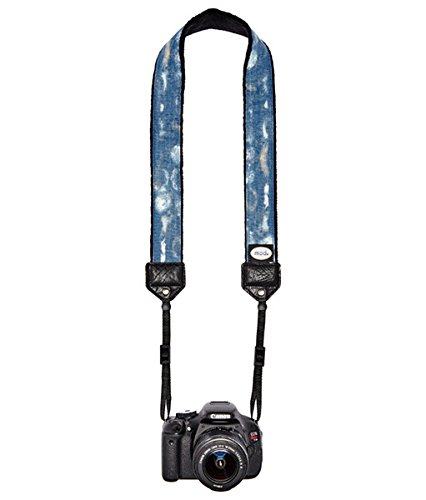 Mod Straps Blue Wash Classic Camera Strap