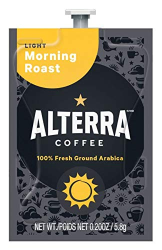 FLAVIA ALTERRA Coffee, Morning Roast, 20-Count Fresh Packs (Pack of 5) by Flavia