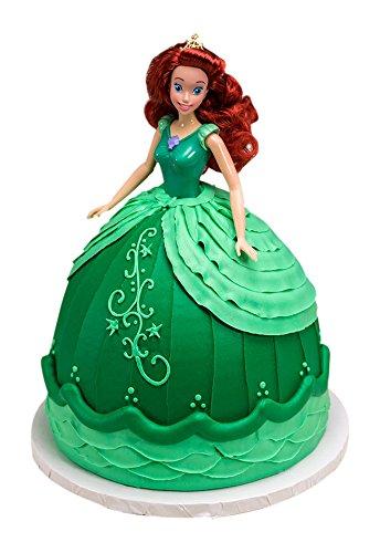 DecoPac Disney Princess Doll Signature Cake DecoSet Cake Topper, Ariel, 11