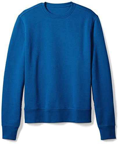 Royal Blue Crewneck - Amazon Essentials Men's Crewneck Fleece Sweatshirt, Blue, X-Large