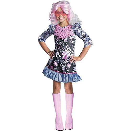 [Ponce Girls Monster High Viperine Gorgon Costume Dress Kids] (Viperine Gorgon Girls Costumes)