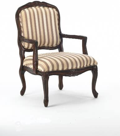 Comfort Pointe Hayward Accent Chair in Walnut Finish