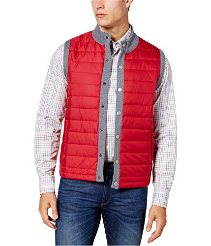 Barbour Men's Essential Quilted Gilet Vest Red S