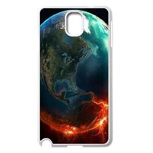 Samsung Galaxy Note 3 Case,Fire Earth Hard Shell Back Case for White Samsung Galaxy Note 3 Okaycosama367819