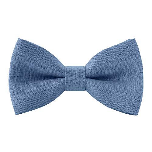 steel blue ties for men - 9