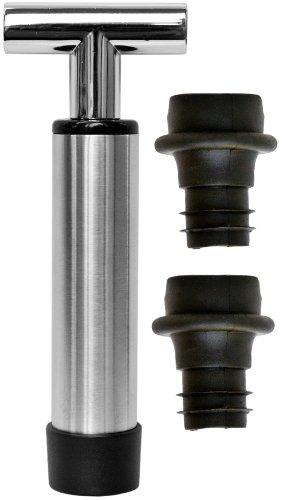 oneida-vacuum-wine-pump-saver-stainless-steel-black
