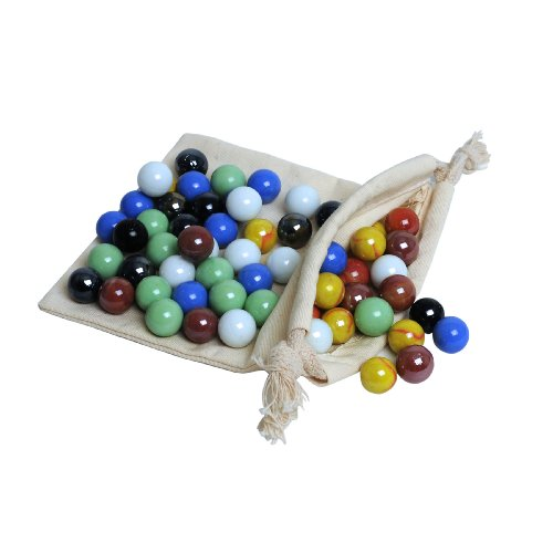Solid White Toy Marbles : Solid wood quot chinese checkers set with glass marbles
