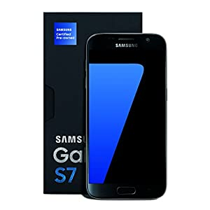 Samsung Galaxy S7 Certified Pre-Owned Factory Unlocked Phone – 5.1″ Screen – 32GB – Gold (1 Year Samsung U.S. Warranty) – SM5G930UZDAXAA