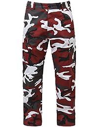 Bdu Pant Red Camo, Medium
