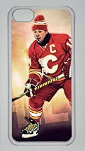 FLEURY CALGARY FLAMES Custom PC Transparent Case for iPhone 5C by icasepersonalized