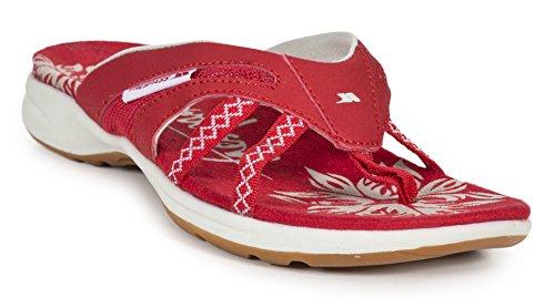 Donna Crux Rosso scarlet Trespass Ciabatte 8ZdxwqEE