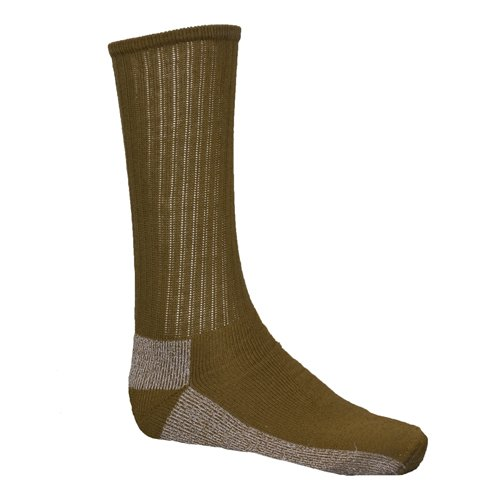Fox Outdoor CBS-COYOTEL Chukka Coolmax Boot Sock Coyote, Large