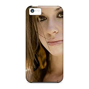 Defender Case For Iphone 5c, Celebrity Lacey Chabert Beautiful Pattern