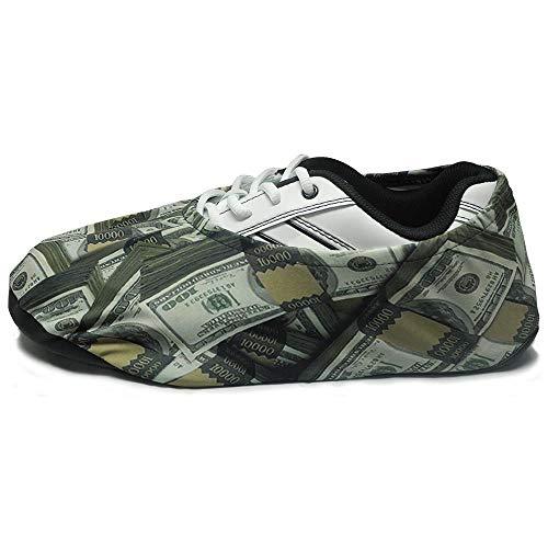 bowlingball.com Premium Bowling Shoe Protector Covers (X-Large: Fits Mens Size 10-15, Money) ()