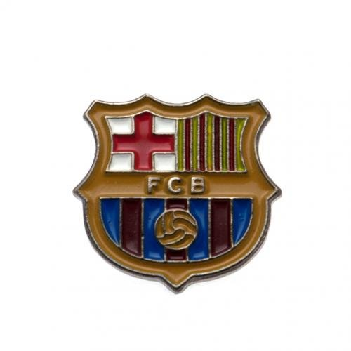 Barcelona Crest Pin Badge