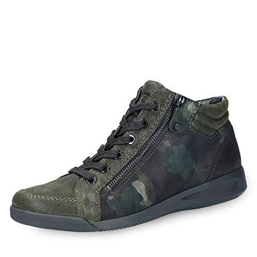 60041 Grün Para Mujer Cuero Zapatos Verde 75 Kombi Cordones Ara De 237 HcqfwxaA