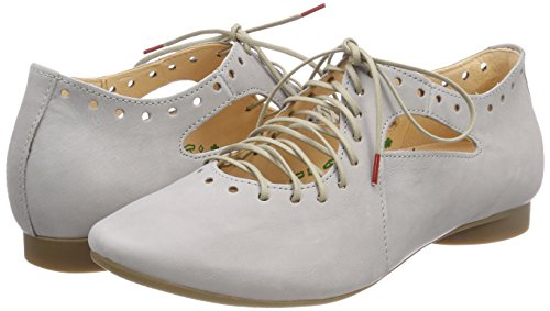 Guad Femme 282284 Gris stahl 18 Think Brogues 8dtOw8q