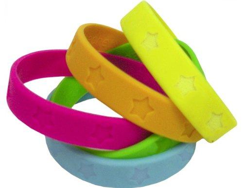 Teacher Created Resources Stars Wristbands, Multi Color (6551)