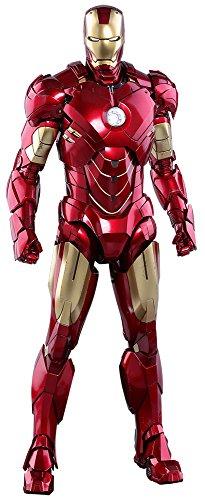 (Marvel Hot Toys Iron Man 2 Iron Man Mark IV Diecast 1/6 Scale 12