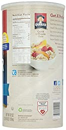 Quaker Quick Oats Large - 42 oz