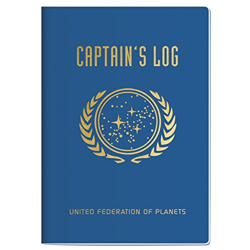 Star Trek Captain's Log Notebook - 7