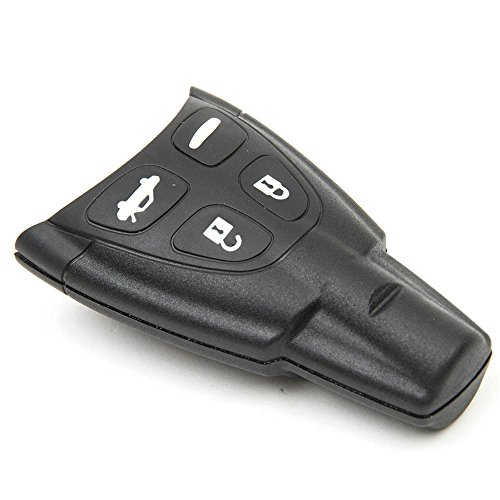 4-button-key-fob-case-shell-replacement-entry-soft-rubber-for-saab-9-3-9-5