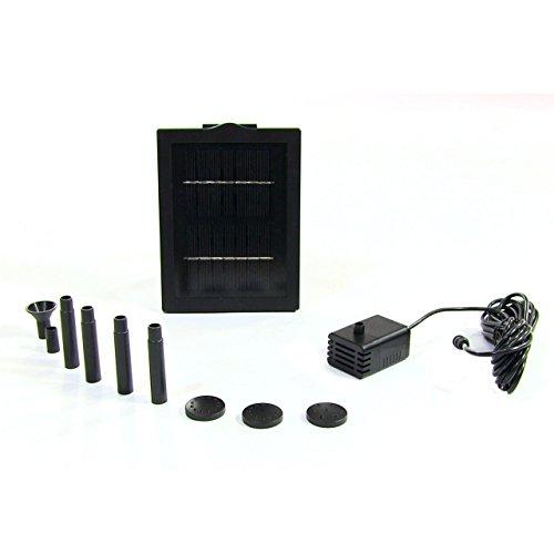 Sunnydaze Solar Pump and Solar Panel Kit With 5 Spray Hea...