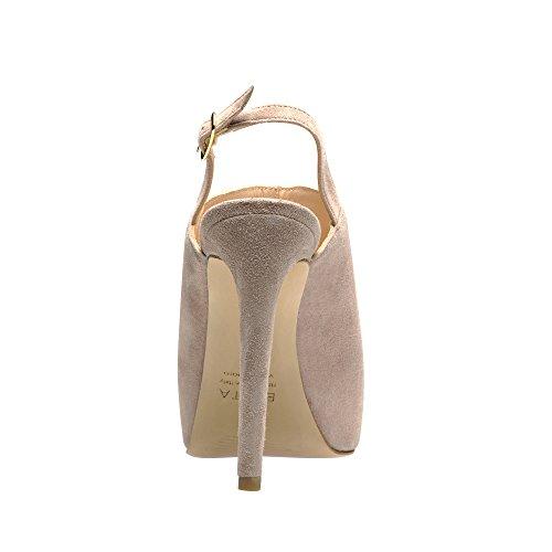 Sandalias de para de mujer vestir Evita Rosa Shoes Altrosa rosa Piel f5wqEP