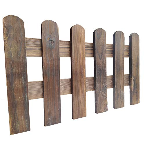 - Arlai 50x30cm(LxH) Scalable Instant Fence Country Corner Picket Garden Creations Patio Wood Fence