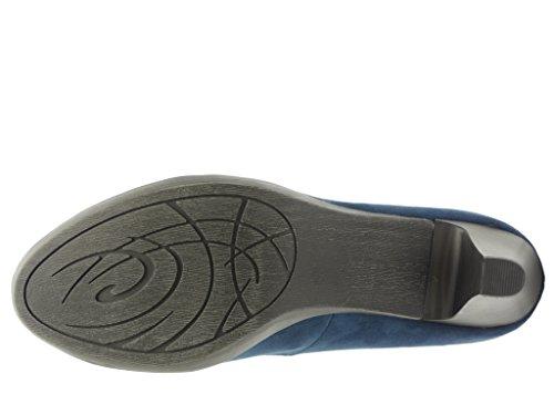 Marco Tozzi, 2 -  2 - 22411-35-805, da. - Zapatos de tacón, azul/805NAVY