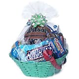Clear Cello/Cellophane Bags Gift Baskets Packaging Bags Large Flat Size 24 in. x 30 in. 10 Packs - Beautiful and Easy DIY gift for any events, gift, wine baskets, wedding, fundraising, birthday ect.