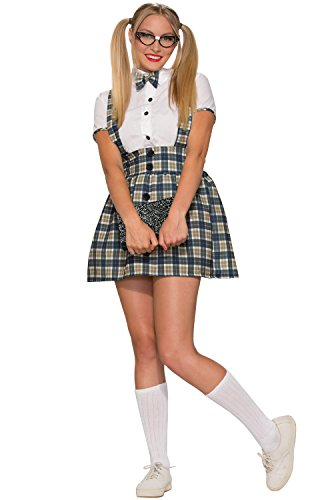 Forum Novelties Women's 50's Nerd Girl Costume, Multi, - Nerd Costumes