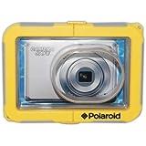Polaroid Dive-Rated Waterproof Camera Housing For The Nikon Coolpix L22, L24, L26, L28, S3100, S3000, S3100, S3300, S3600, S4000, S4100, S4300, S5100, S5200, S5300, S6000, S6100, S6200, S6300, S6400, S6500, S6800, S01, S80, S70, S220, S230, S620, S640 Digital Cameras