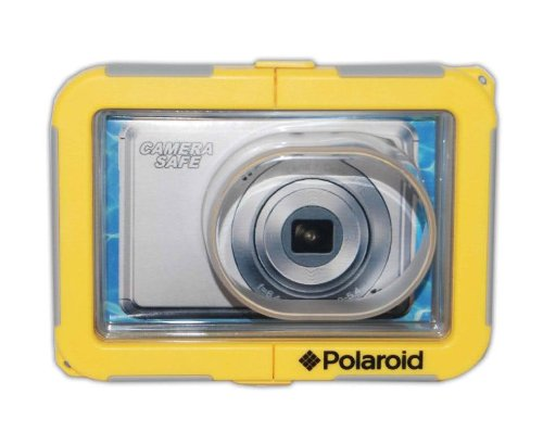 Polaroid PLWPCK18-8 Dive-Rated Waterproof Camera Housing for Sony Cybershot DSC (Sony Cyber Shot Waterproof Case)