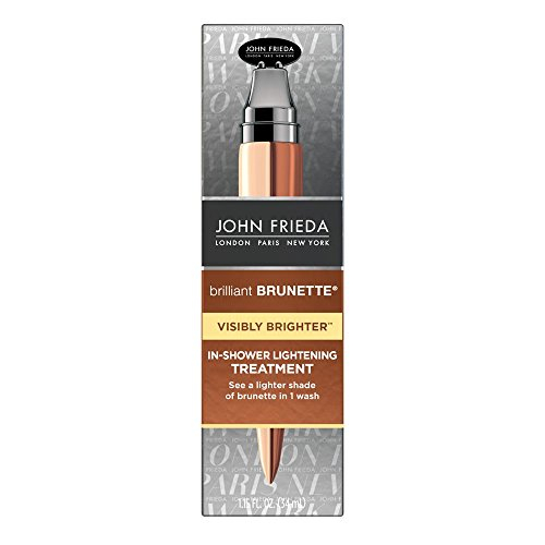 Lightening Treatment (John Frieda Brilliant Brunette Visibly Brighter In-Shower Lightening Treatment, 1.15 Ounce)