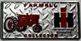 International Harvester License Plate Tractor Farmall Collector Ih Diamond Tread Tag Farm