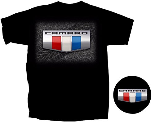 Chevy Camaro Club - Chevy 2016 Camaro Logo T-Shirt -xl