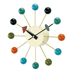 Telechron Atomic Ball Wall Clock, Multi
