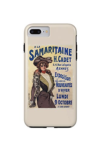 a-la-samaritaine-vintage-poster-france-iphone-7-plus-cell-phone-case-tough