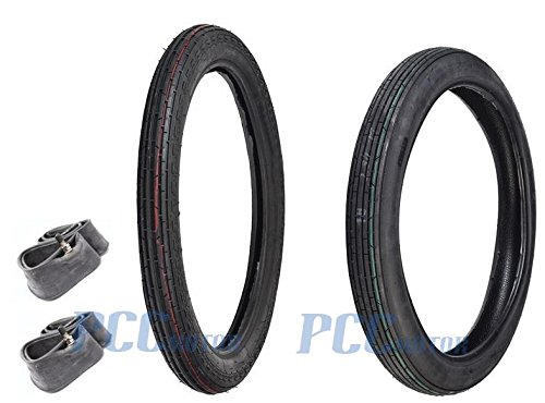 10L 17'' Honda C70 Passport Scooter Tire Tires C 70 2.25/2.50X17 FRONT REAR TR15 by PCC MOTOR (Image #3)