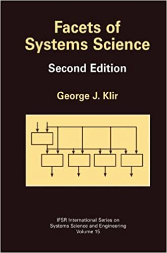 Book Facets of Systems Science (IFSR International Series on Systems Science and Engineering)