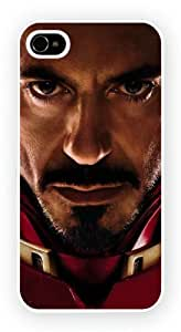 Iron Man1 Art Design, iPhone 4 / 4S glossy cell phone case / skin