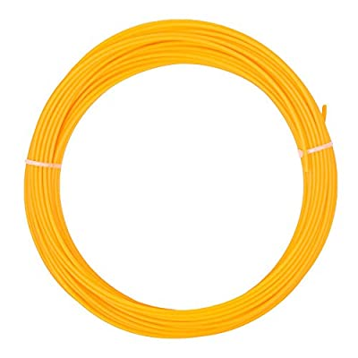 WYZworks Mini 50g 3D Printer Filament - PLA 3.00mm Translucent Orange