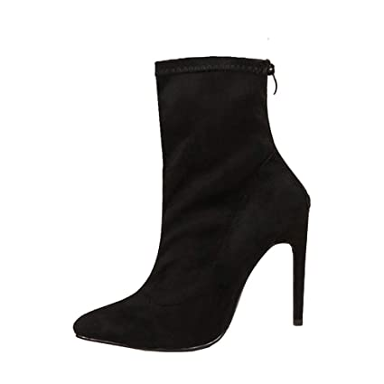 Amazon.com: Fashion Autumn Women Party Shoes, NDGDA LAT Casual Suede Boots Shoes: Arts, Crafts & Sewing