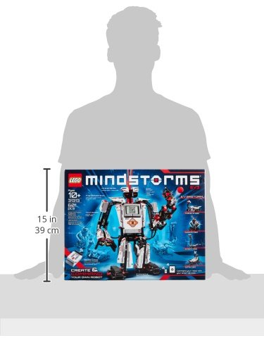 41yZzbwyGnL - LEGO MINDSTORMS EV3 31313 Robot Kit with Remote Control for Kids, Educational STEM Toy for Programming and Learning How to Code (601 pieces)