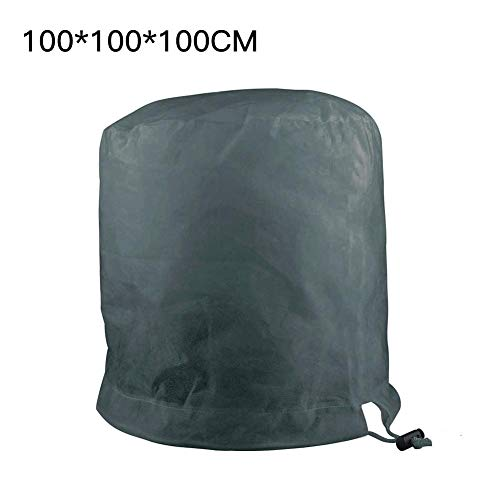 etateta Cylindrical Freeze Protection Plant Covers Winter,Shrub Frost Protection Plant Covers Jacket with Drawstring,Tree Protector Wrap,Gardening Protecting Bag workable