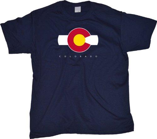 Ann Arbor T-Shirt Co. Men's COLORADO T-Shirt