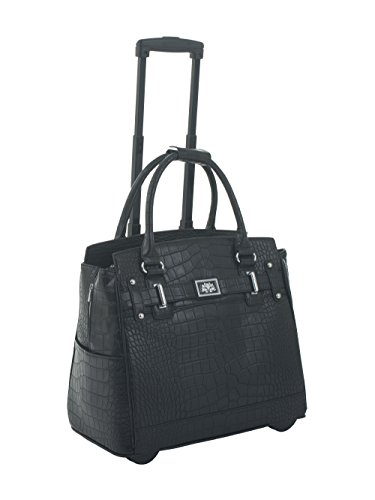 the-classic-black-alligator-crocodile-rolling-ipad-tablet-or-laptop-tote-carryall-bag