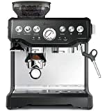 Breville Barista Express Espresso Machine, Black Sesame, BES870BKS